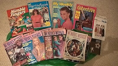 Woman's Weekly Magazine - Vintage copies 1981-1983 - Over 50 issues.