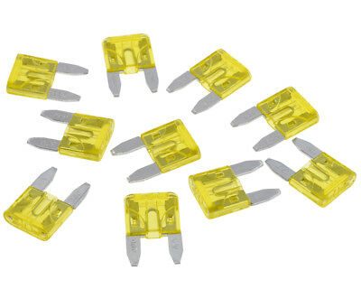 Plug fuse / flat fuse / circuit example. Motorcycle, 20 A, 10-pack