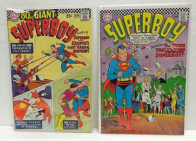 Superboy #138 VG+ 4.5 & #139 VF- 7.5 1967 Two-Issue LOT!
