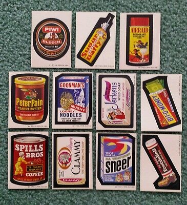1974 Topps Wacky Packages Series 6, 7, 8 complete your set Ex or better $2cad ea