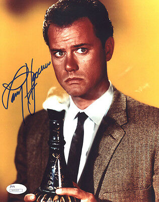 (SSG) LARRY HAGMAN Signed 8X10 Color Photo with a JSA (James Spence) COA