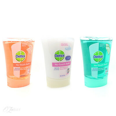 New Dettol Antibacterial No Touch Handwash Refill 250ml Single Refill