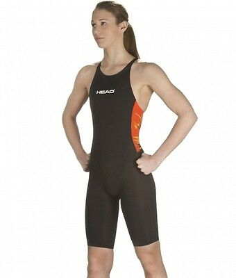 HEAD Liquidfire Knee Women's Tech Swimsuit-FINA Approved (452068) - Free Goggle