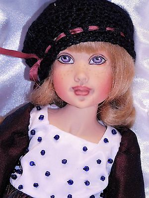 "Kish & Co MULBERRY PLAID ZOE 10"" Resin BJD by Helen Kish LIMITED ED 75_NRFB"