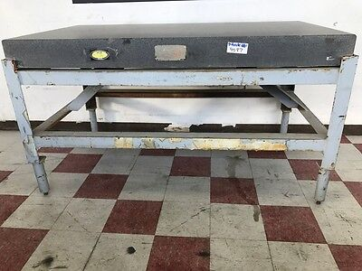"72""L x 40""W x 6""THK ACE GRANITE SURFACE PLATE WITH STAND"