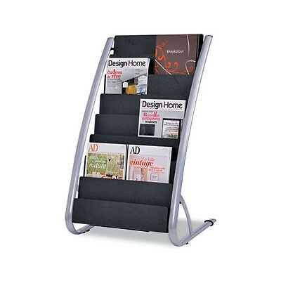 Alba Literature Floor 8-Pocket Display Rack - DDEXPO8