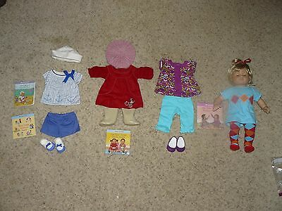 American Girl Bitty Baby Girl Twin W/ Meet Outfits & 3 Other Outfits