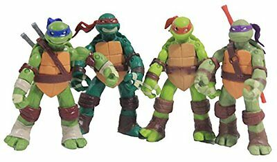 4X TMNT Teenage Mutant Ninja Turtles Classic Collection Movie Action Figure Toys