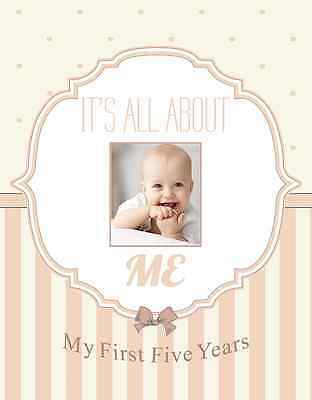 Normson First Year Baby Memory and Record Book, Journal, Photo Album, Scrapbook