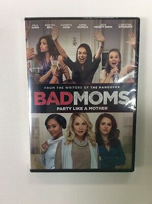 Bad Moms (DVD, 2016) BRAND NEW