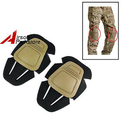 EMERSON Men Military Combat Protective Knee Pads for Tactical Army G3 Pants Tan