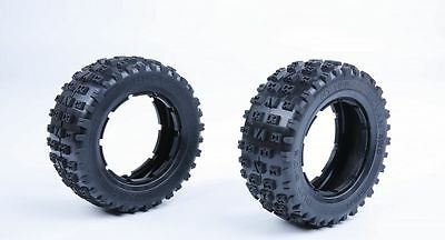 Wheel tire 2PCS Fit Losi 5ive T