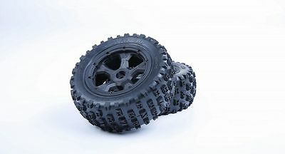 Wheel completely tire set 2PCS Fit Losi 5ive T