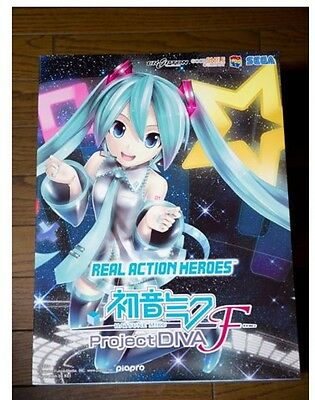 REAL ACTION HEROES Hatsune Miku Project DIVA F Figure New From Japan