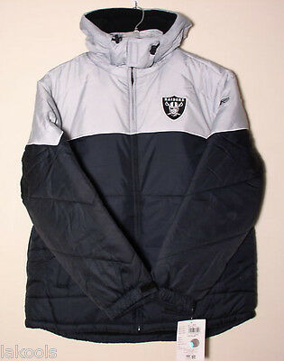 New Oakland Raiders Official license Hoodie Jacket size XL