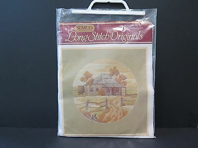 "Semco ""the Old Homestead"" Kit No. 3098 Long Stitch Kit"