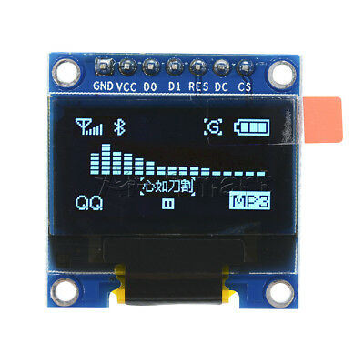 "0.96"" I2C IIC SPI Serial 128X64 OLED LCD Display SSD1306 for Arduino 51 STM32 AS"