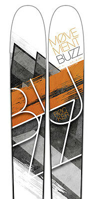2015 Movement Buzz 185 Freeride Back Country Touring Skis
