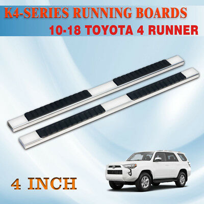 For 10 16 4 runnersr n280 suv 525aluminum lighted running board for 10 18 toyota 4runner 4 nerf bar running board side step stainless steel aloadofball Images