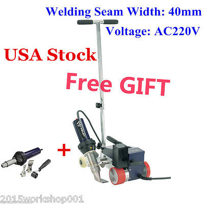 USA!!! AC220V 3400W WELDY Roofing Hot Air Welder Machine 40mm Nozzle +Air Gun
