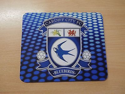 New Cardiff City Fc Soft Computer Mouse Mat