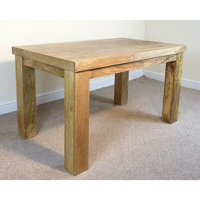 Mercers Furniture Mantis Solid Mango Wood Dining Table 135cm