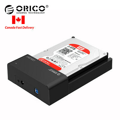 ORICO USB3.0 to SATA 2.5 & 3.5 inch Hard Drive Docking Station Enclosure HDD SSD