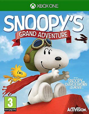 Peanuts Movie: Snoopy's Grand Adventure Video Game For Xbox One Console new Uk