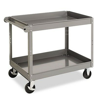 Tennsco Metal Two-Shelf Cart - SC2436