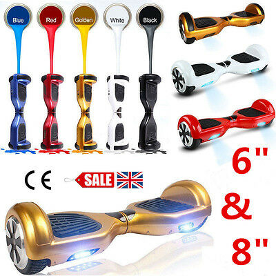 Hover Board Electric Scooter SHIP UK 6.5 / 8 inch SAFE 700W Motor Self Balance