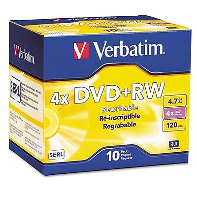 Verbatim DVD+RW In Jewel Cases - 94839