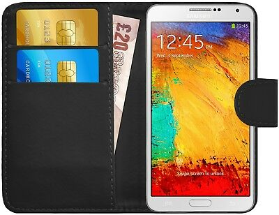 G-Shield® Luxury Leather Flip Wallet Slim Case Cover For Samsung Galaxy Note 3