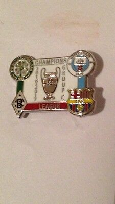 Celtic, Manchester City,monchengladbach Group C Champions League  Badge 2016/17