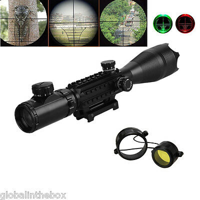 C4-16X50EG Red Green dot Hunting Scope Sight Mount Air Sniper Rifle Scope ES