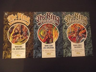 THE RING OF THE NIBELUNG 1-3 ...NM-..1989  ...Bargain!