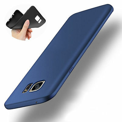360° Shockproof Slim Soft Rubber Silicone TPU Back Case Cover Shin For samsung