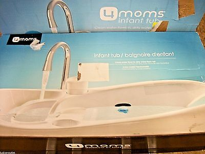4moms Infant Baby Sink Bath Tub Digital Thermometer Display Gently Used No Cup