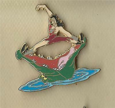 Disney Tic Toc Crocodile Snacking on Captain Hook from Peter Pan pin/pins