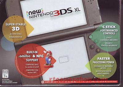 NINTENDO NEW 3DS XL Black Firmware 9 2U US Gateway CFW Ready! Fair Offers  accept