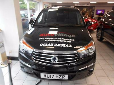 2017 SsangYong Turismo 2.2 ELX PLUS  5dr Tip Auto 4WD  3YR SERVICING  EXCLUSI...