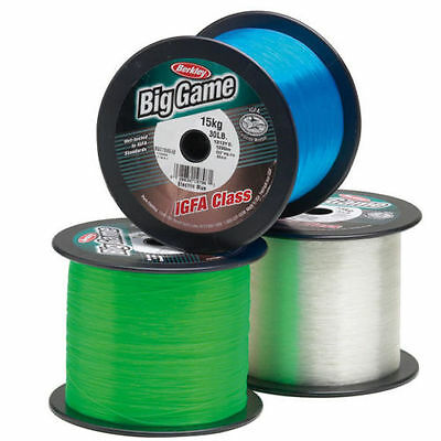 Berkley BIG GAME IGFA Clear Bulk Fishing Line 1200 m/1300Yrd 10Kg .44m