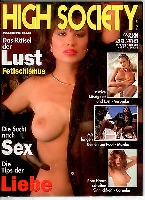 High Society Nr.2/93 - Vintage Farbfoto-Magazin