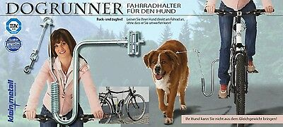 Bicycle mount for the dog DOGRUNNER Kleinmetall NEW - with Joy Rad driving