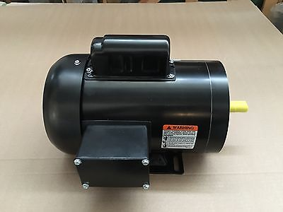 1 hp electric motor  56c 1 phase tefc 115/230 volt 3600/3450 rpm enclosed