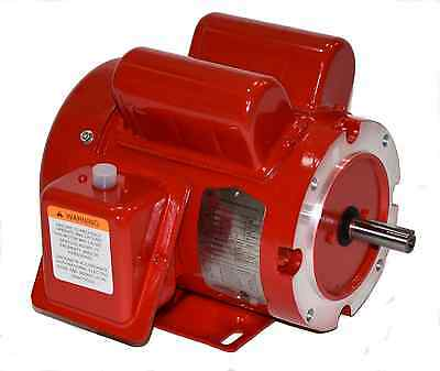1/2 hp electric motor 56c or 56 frame 1755 115/230 1 Phase f56c1/2s4c-mo 110086