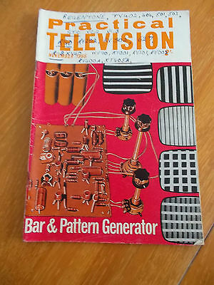 Practical Television Mag  Nov 1966 Bar & Pattern Generator See Photo Of Contents