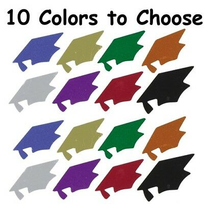 Graduation Grad Cap Confetti- 10 Colors to Choose -  1.81 per 1 2 oz 799225dabdb6