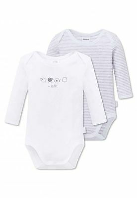 Schiesser Baby long-sleeved Body Double pack 56 62 68 75 80 86 92 98 4 YEARS NEW