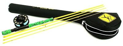 "Echo Gecko Kids Fly Rod/Reel Kit  - Medium/Fast Action 7'9"" (#4/5 Line)"