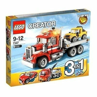LEGO Creator 7347 Highway Pickup, Sports Car, Crane Truck 3 in 1 Brand New Boxed